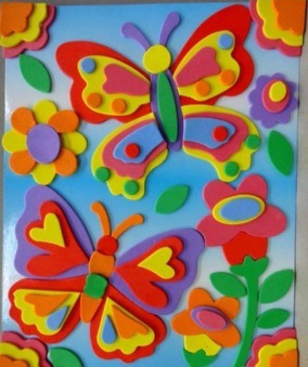 儿童手工制作立体贴画 团购打折 拼团